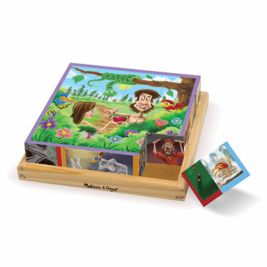 jcpenney.com | Melissa & Doug Old Testament Cube Puzzle