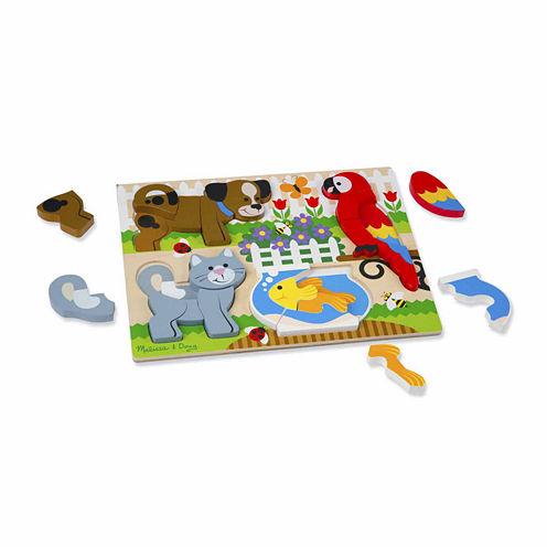 Melissa & Doug® Chunky Jigsaw Puzzle - Pets
