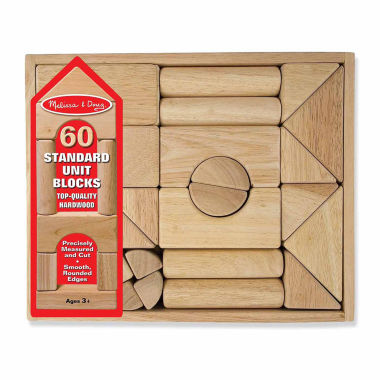 jcpenney.com | Melissa And Doug 60-pc. Building Blocks