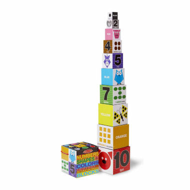 jcpenney.com | Melissa & Doug Nesting Blocks - Numbers, Shapes, Colors