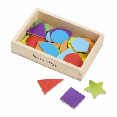 jcpenney.com | Melissa & Doug Wooden Shape Magnets