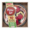 Melissa & Doug® Felt Food Pizza Set