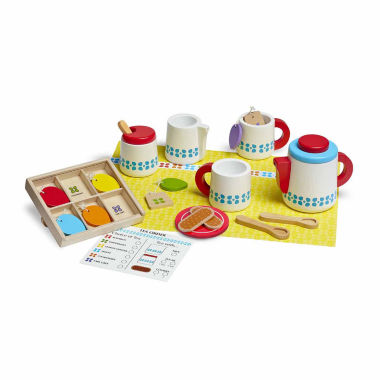 jcpenney.com | Melissa And Doug 22-Pc. Play Wooden Steep  Serve Tea Set Food