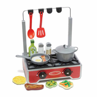 jcpenney.com | Melissa And Doug 17-Pc. Play Deluxe Wooden Cooktop Set Kitchen
