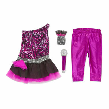 jcpenney.com | Melissa And Doug 4-Pc. Rock Star Role Play Set Dress Up Costume