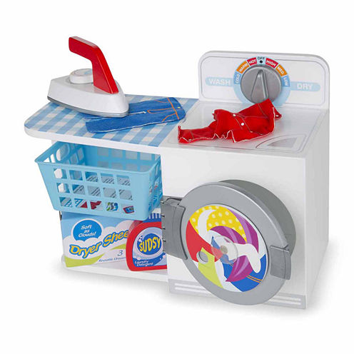 Melissa & Doug Let's Play House! Wash, Dry & Iron