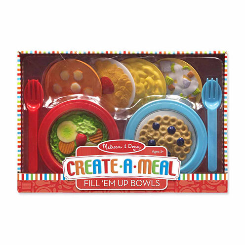 Melissa & Doug® Create-A-Meal Fill 'Em Up Bowls