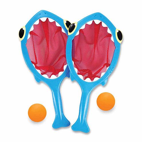 Melissa And Doug 4-Pc. Playground Spark Shark Toss  Catch Balls