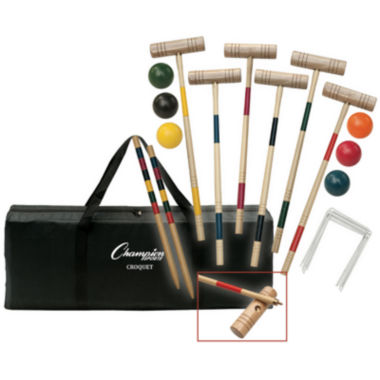 jcpenney.com | Champion Sports Tournament Series Croquet Set