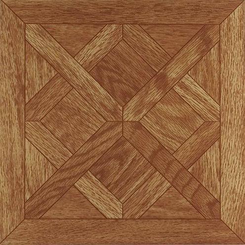 Nexus Classic Parquet Oak 12x12 Self Adhesive Vinyl Floor Tile - 20 Tiles/20 Sq Ft.