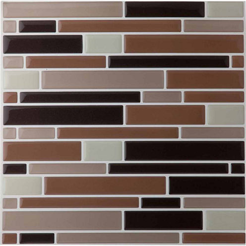 Magic Gel Beige 9.125x9.125 Self Adhesive Vinyl Wall Tile - 1 Tile.82 Sq Ft.