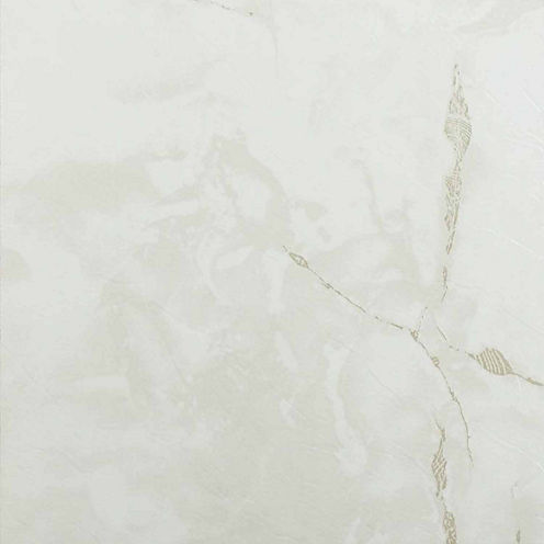 Nexus Classic White With Grey Veins 12x12 Self Adhesive Vinyl Floor Tile - 20 Tiles/20 Sq Ft.