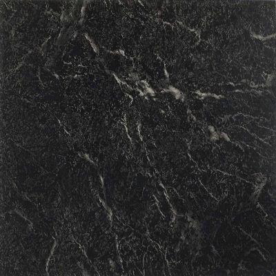 Nexus Black With White Vein Marble 12x12 Self Adhesive Vinyl Floor ...