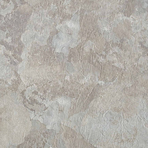 Majestic Light Gray Slate 18x18 Self Adhesive Vinyl Floor Tile - 10 Tiles/22.5 Sq Ft