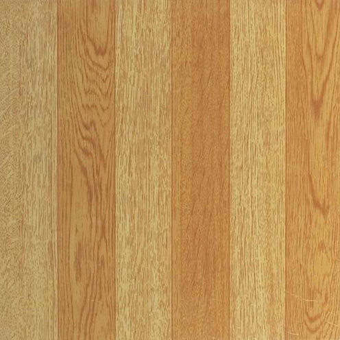 Tivoli Light Oak Plank-Look 12x12 Self Adhesive Vinyl Floor Tile - 45 Tiles/45 Sq Ft
