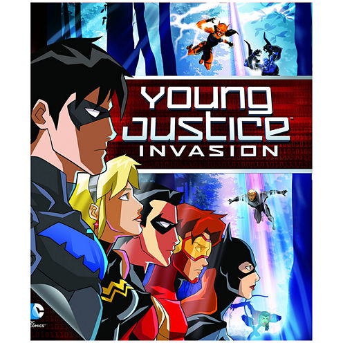 Young Justice Invasion Bluray