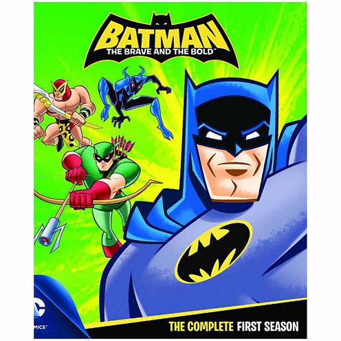 Batman Brave & The Bold: The Complete First SeasonBlu-Ray