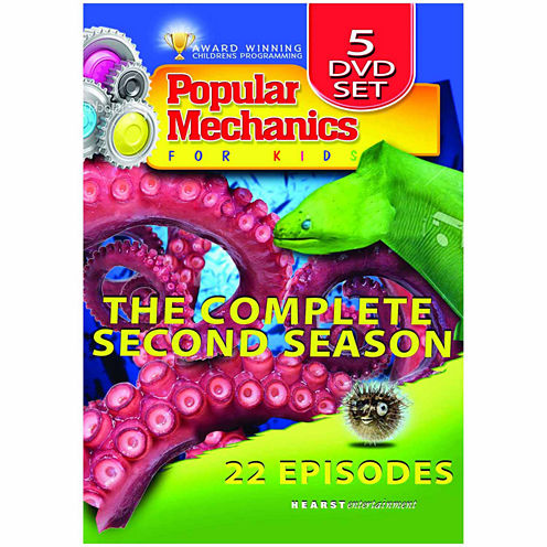 Popular Mechanics For Kids - The Complete Series