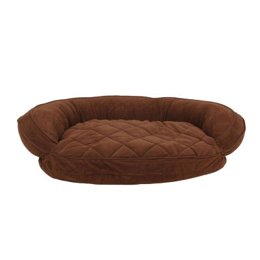 jcpenney.com | Carolina Pet Company Microfiber Quilted Bolster Bed with Moister Barrier Protection