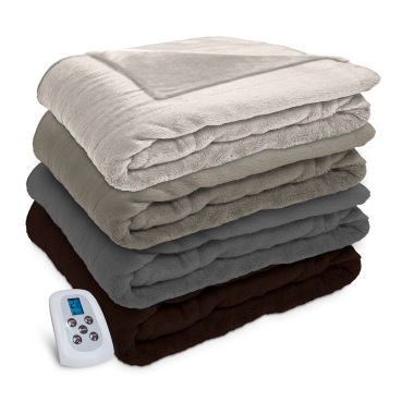 jcpenney.com | Serta Silky Plush Heated Electric Blanket