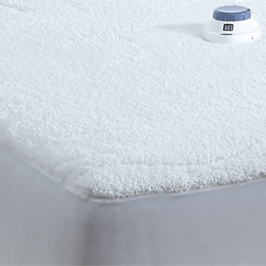 jcpenney.com | Safe And Warm Sherpa Heated Quilted Heated Mattress Pad