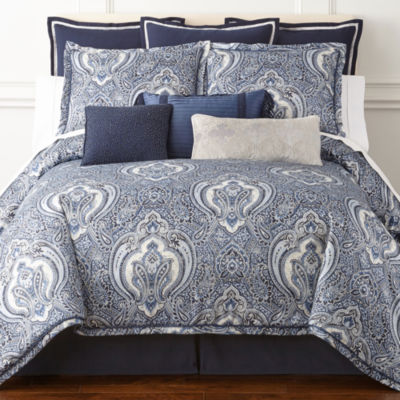 jcpenneycom royal velvet modena 4pc comforter set u0026 accessories - Royal Velvet Sheets