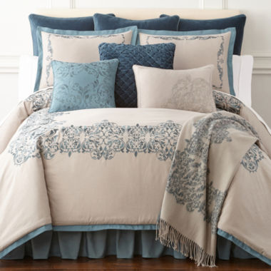 jcpenney.com | Royal Velvet Sienna 4-pc. Comforter Set & Accessories