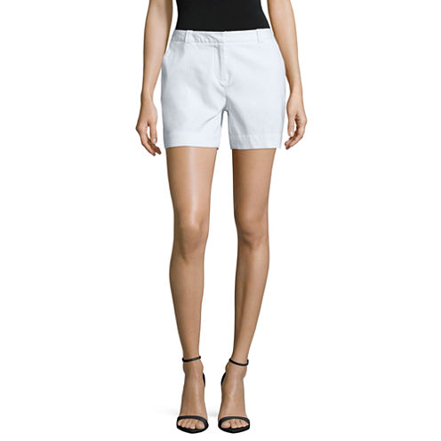 Worthington Centennial Chino Shorts-Petites