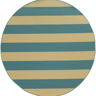 jcpenney.com | Covington Home Cabana Stripes Round Rug - 7'10""