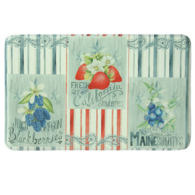 jcpenney.com | Bacova Guild American Berries Printed Rectangle Anti-Fatigue Rugs