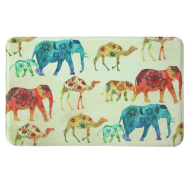 jcpenney.com | Bacova Guild Safari Bazaar Printed Rectangle Anti-Fatigue Accent Rug