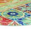 Bacova Guild Tiles And Hen Wedge Kitchen Mat