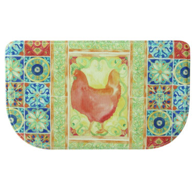 jcpenney.com | Bacova Guild Tiles And Hen Printed Wedge Anti-Fatigue Rugs