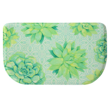 jcpenney.com | Bacova Guild Succulent Tossed Printed Wedge Anti-Fatigue Accent Rug