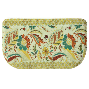 jcpenney.com | Bacova Guild Boho Floral Printed Wedge Anti-Fatigue Accent Rug