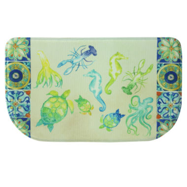 jcpenney.com | Bacova Sea Temple Printed Anti-Fatigue Rug