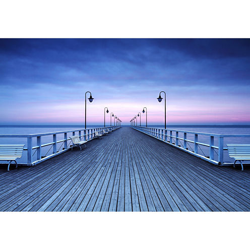 Brewster Wall Pier at the Seaside Wall Mural