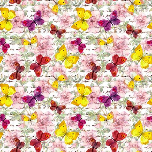 Wall Pops Butterflies Peel and Stick Foam Tiles