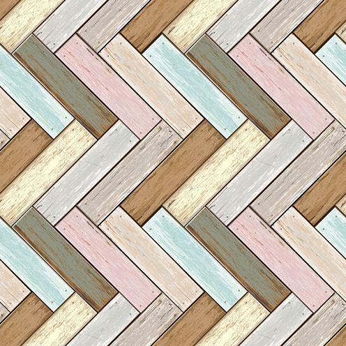 Wall Pops Wood Peel and Stick Foam Tiles