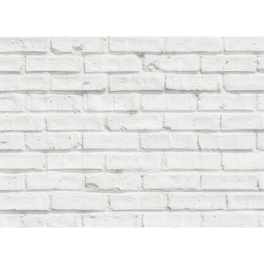 jcpenney.com | Wall Pops White Bricks Kitchen Panel Decal