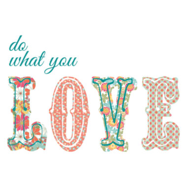 jcpenney.com | Wall Pops Do What You Love Quote Wall Decal