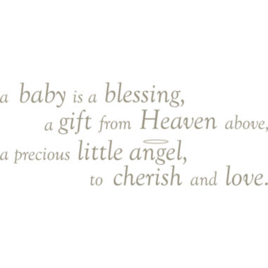 jcpenney.com | Baby is a Blessing Quote Wall Decal