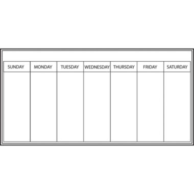 jcpenney.com | Wall Pops Dry Erase Peel & Stick Whiteboard Dry-Erase Weekly Calendar -Set of 2