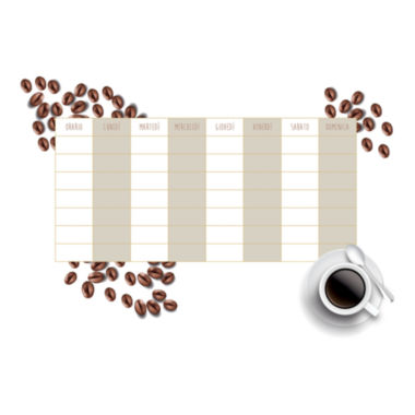 jcpenney.com | Wall Pops Coffee Weekly Calendar Wall Decal