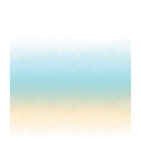 Horizon Turquoise Wall Mural