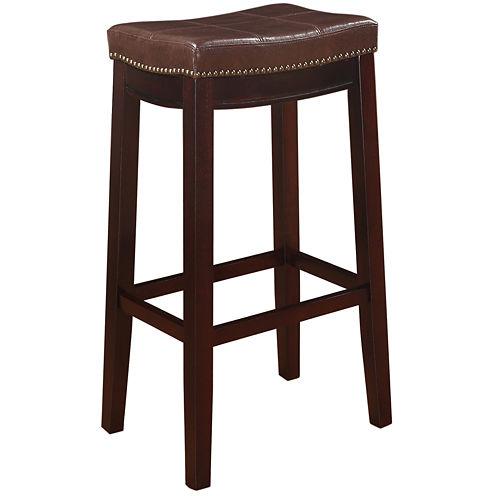 Claridge Patches Brown Bar Stool