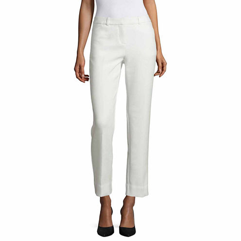 Worthington Slim Fit Ankle Pants