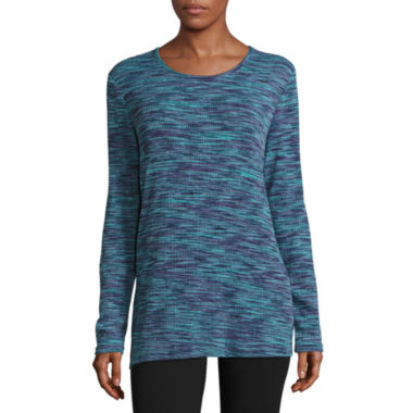 jcpenney.com | Made For Life Long Sleeve Thermal Top