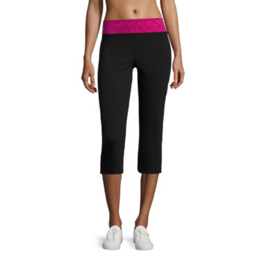 jcpenney.com | Made For Life Knit Workout Back Vent Capris