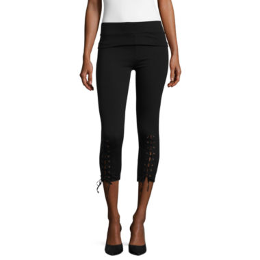 jcpenney.com | i jeans by Buffalo Lace Up Leggings